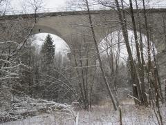 Ж/Д мост над Красной
