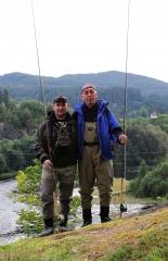С IRA на реке