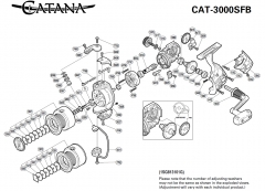 Shimano Catana 3000SFB