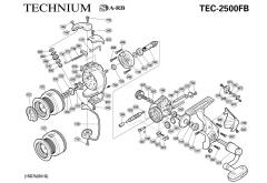 Shimano Technium 2500FB